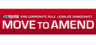 Image result for Move to Amend logo